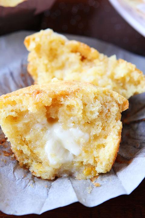 Sweet Honey & Jalapeno Cornbread Muffins